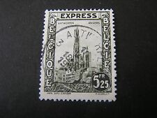 *BELGIUM, SCOTT # E4, 5.25fr.VALUE 1929 SPECIAL DELIVERY ISSUE USED