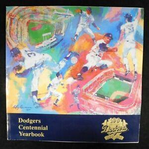 Los Angeles Dodgers 1990 Centennial Yearbook Program (100 Anniversary 1890/1990)