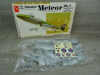 AMT Gloster Meteor MK1 & VI Flying Bomb 1978 Model Kit Plane Aircraft 1:48 Scale