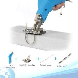 230V Electric Foam Cutter Carving Knife Slotting Hot Cutting Blade DIY Sculpture
