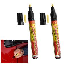 2 x Fix It Pro Universal Car Scratch Repair Remover Pen Clear Coat Applicator