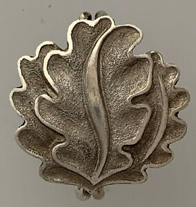 SOLID '800 L/12 SILBER' Germany WWII Oak leaves to the 1939 Knights Cross