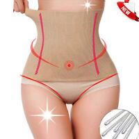 Lady High Waist Body Shaper Postpartum Belly Recovery Girdle Tummy Control Belt
