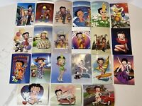 """Vintage Betty Boop Postcard Lot of 21 no Doubles 1980s 1990s 4"""" x 6"""""""