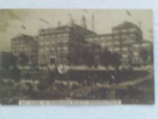 SCARCE 1909 RPPC POSTCARD SHREDDED WHEAT CEREAL FACTORY NIAGRA FALLS NEW YORK NY
