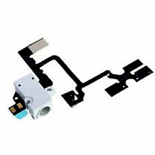 Iphone 4 4g Manos Libres Audio Jack Volumen botón Flex Cable Repuesto Blanco