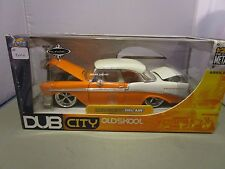 JADA 1/24 DUB CITY OLD SKOOL *RARE TENNESSEE EDITION* 1956 CHEVY BEL AIR NEW