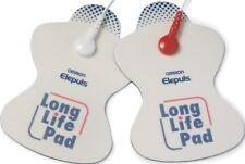 Omron decenas almohadillas Electrodos almohadillas de larga vida para E1 E2 E3 E4 dispositivo de tacto suave