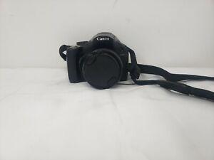 Canon PowerShot SX40 HS 12.1MP Digital Camera - Black