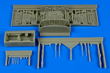 Aires 1:48 F-106A Delta Dart Wheel Bay for Trumpeter Kit Resin Update #4657