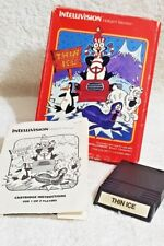 Thin Ice INTELLIVISION Game Cartridge complete with box & manual RARE 1986