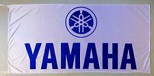 YAMAHA FLAG WHITE - SIZE 150x75cm (5x2.5 ft) - BRAND NEW