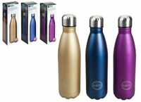B&Co Hamelin 500ml Water Bottle Vacuum Insulated Flask Thermal Sport Chilly Cold