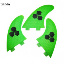 Surfboard Fins Honeycomb FCS Compatible Surf Fin G5/M5 Thruster Set Of 3 Hexcore