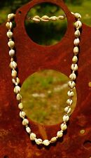 Cowrie shells woven great condition NECKLACE