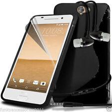 Étuis, housses et coques noirs HTC One S en silicone, caoutchouc, gel pour téléphone mobile et assistant personnel (PDA)