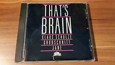 Various Artists-Thats´ Brain (Grobschnitt,Jane,K. Schulze) (Brain‎–843 072-2)