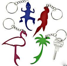 36 Pc Lot Metal Bottle Opener Keyring Keychain Tropical Beach Surfer Chain #8250
