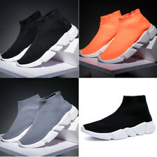 Women Men's Sneakers Sock Shoes Slip On Breathable Running Walking Sports Shoes