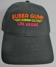 Bubba Gump Las Vegas Hat Cap Shrimp Co USA Embroidery New