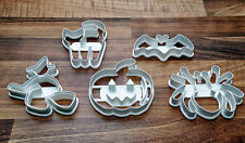 Halloween Cookie Cutters x 5 Unique Halloween Cookie Cutters
