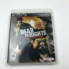 Dead to Rights: Retribution (Sony PlayStation 3, 2010) Complete PS3 Game