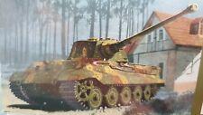Dragon 6209 King Tiger Henschel w/Transport Track *Rare* 1/35th