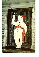 Snowman-Bonhomme Mascot-Festival-Carnaval of Quebec-Canada-Vintage Postcard