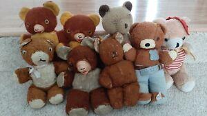 Vintage Teddy Bear Lot Ideal Smokey the Bear  - Flashlight Teddy Bears