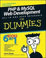 Php & MySql Web Dev All-in-One Desk Reference for Dummies