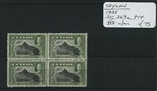 Ceylon 1935 SG.369a Block U/M