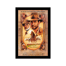 Indiana Jones And The Last Crusade - 11x17 Framed Movie Poster by Wallspace