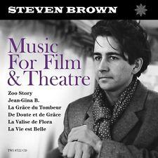 Steven Brown-Music For film & Theatre 2 CD NUOVO