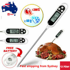 Digital Food Thermometer Kitchen Temperature Cooking Meat Stab Probe Baby Cook