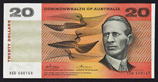 20 Dollars $20 Australian Banknote 1972 Phillips Wheeler R404