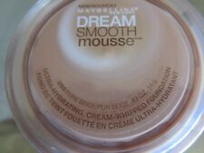 MAYBELLINE DREAM SMOOTH MOUSSE #250 Cream-Whipped Foundation .49 oz NEW SEALED