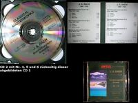 2 CD=J.S. Bach Brandenburgische Konzerte Nr. 1-6, ca. 98 min Gewaltiges fürs Ohr