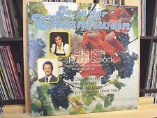 """★★ 12"""" LP - ERIKA KÖTH und RUDOLF SCHOCK - Ja ja der Chiantiwein / G. Winkler"""