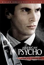 American Psycho (Dvd, 2005, Uncut)New, Free shipping