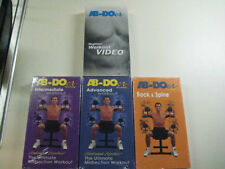 OWN YOUR AB-DOER 4 VIDEOS SET on DVD NOW Exc!! Quality