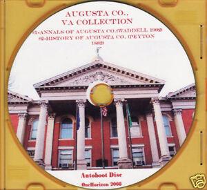 Augusta County Virginia Duo - VA History & Genealogy