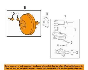 Pontiac GM OEM 09-10 Vibe-Power Brake Vacuum Booster 19204759