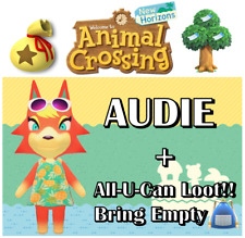 🐏🐕🦺 Animal Crossing:New Horizons 🐿️🐘 AUDIE VILLAGER + 💥 ALL-U-CAN LOOT 💥