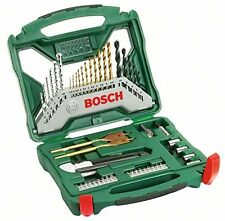 Bosch X-Line Mixed Drill Bit and Accessory Set, 50 piece