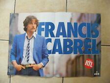 Poster Concert Francis Cabrel 40 Sur 23 5/8in