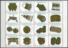 Turkmenistan 2014 Goldschmuck Folklore Jewellry Kunsthandwerk 330-345 MNH