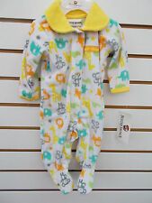 Infant Boys Buster Brown Fleece Creepers Size 0/3 Months - 6/9 Months
