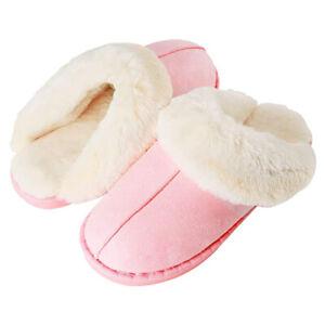Women's Memory Foam Slippers Indoor/Outdoor Wear Comfort Plush Anti-Skid Sole