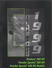 1999 ARCTIC CAT SNOWMOBILE PANTERA  580 EFI  P/N 2255-941 SERVICE MANUAL (313)