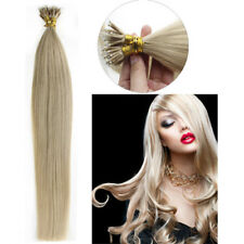 """16""""-22"""" 7A Quality Nano Ring Human Hair Extensions Micro Ring Beads 1g/s US"""